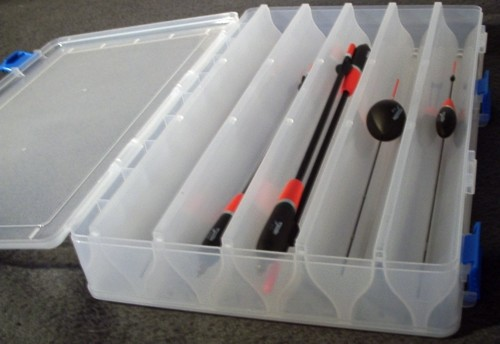 Double Side Posen Box  für Waggler bis 34 cm auch Top für Sbirolino